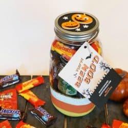 Halloween Mason Jar Boo Kit