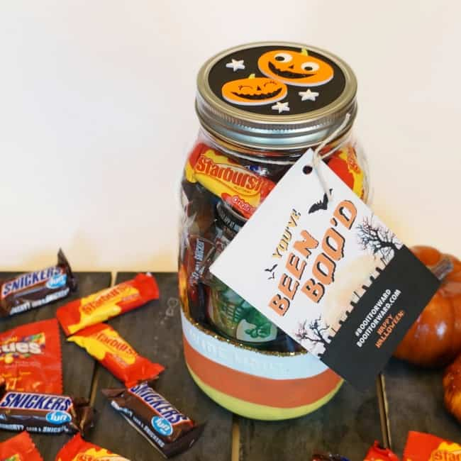 Halloween Mason Jar Boo Kit #ad #BOOItForward