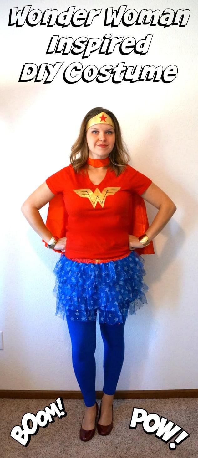 DIY Wonder Woman Inspired Costume - Creative Ramblings