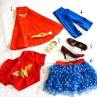 DIY Wonder Woman Inspired Costume