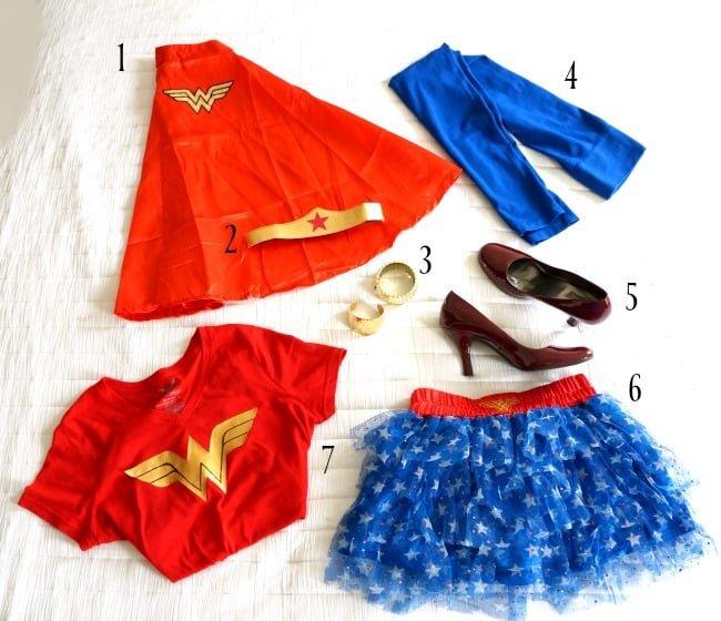 DIY Wonder Woman Inspired Costume for Halloween