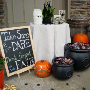 Trick or Treat Halloween Porch