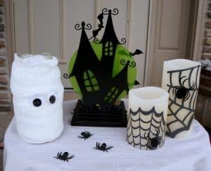 DIY Halloween porch