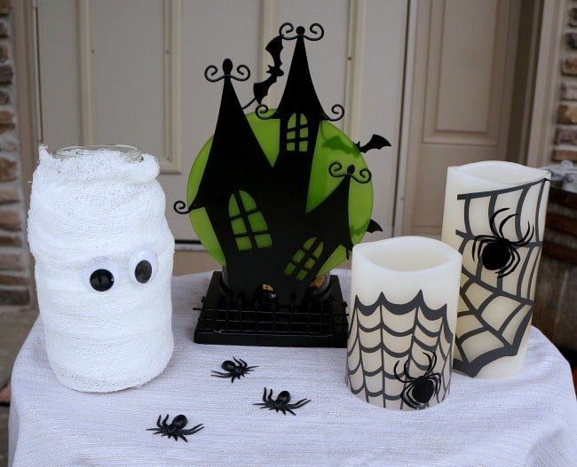 DIY Halloween porch