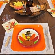 How to Set a Fun Thanksgiving Kids Table