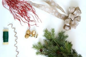Easy Evergreen Christmas Swag