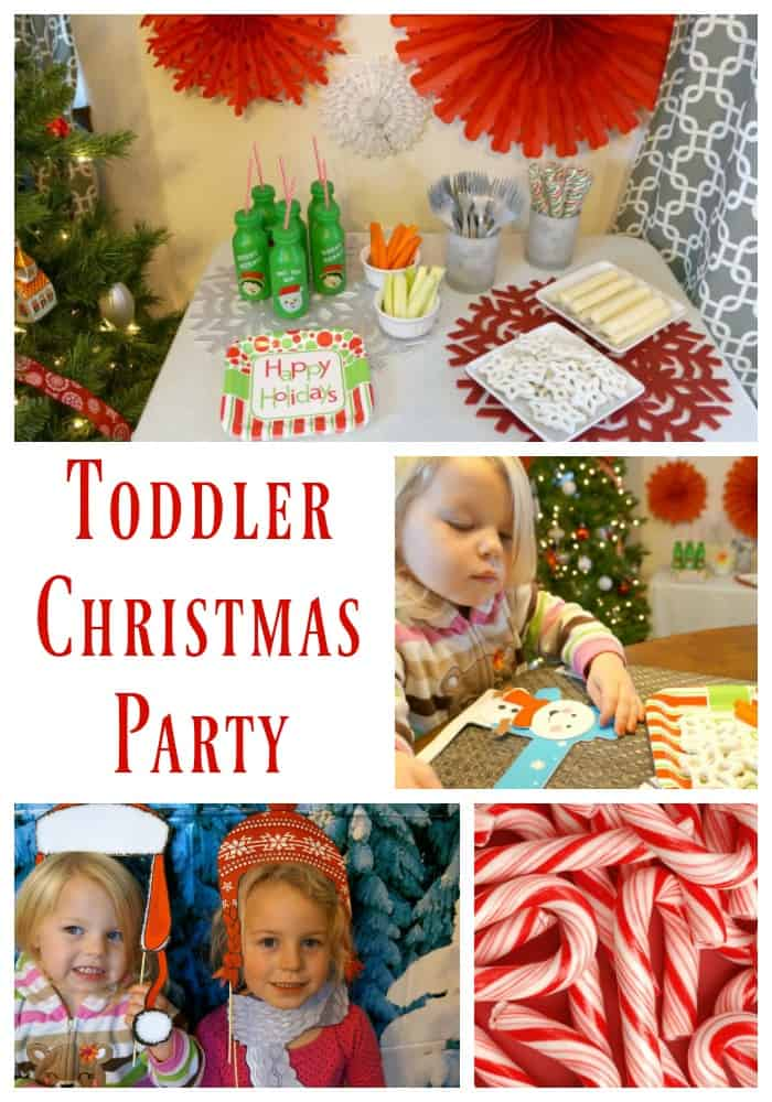 How to throw an easy Toddler Christmas Party