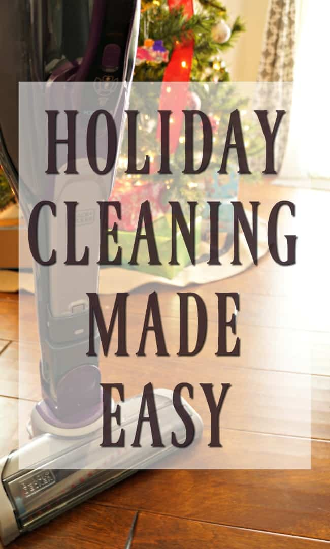 Holiday cleaning made easy. Holiday messes happen, be creative and messy then clean it up with BLACK+DECKER #ad