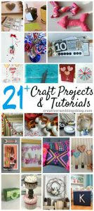 21 craft projects and tutorials using supplies you probably already have on hand