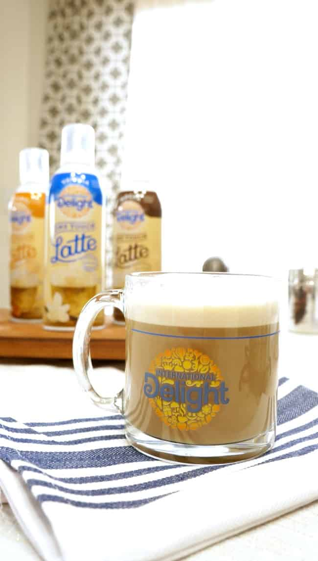 Create an easy and delicious latte at home #LatteMadeEasy #ad