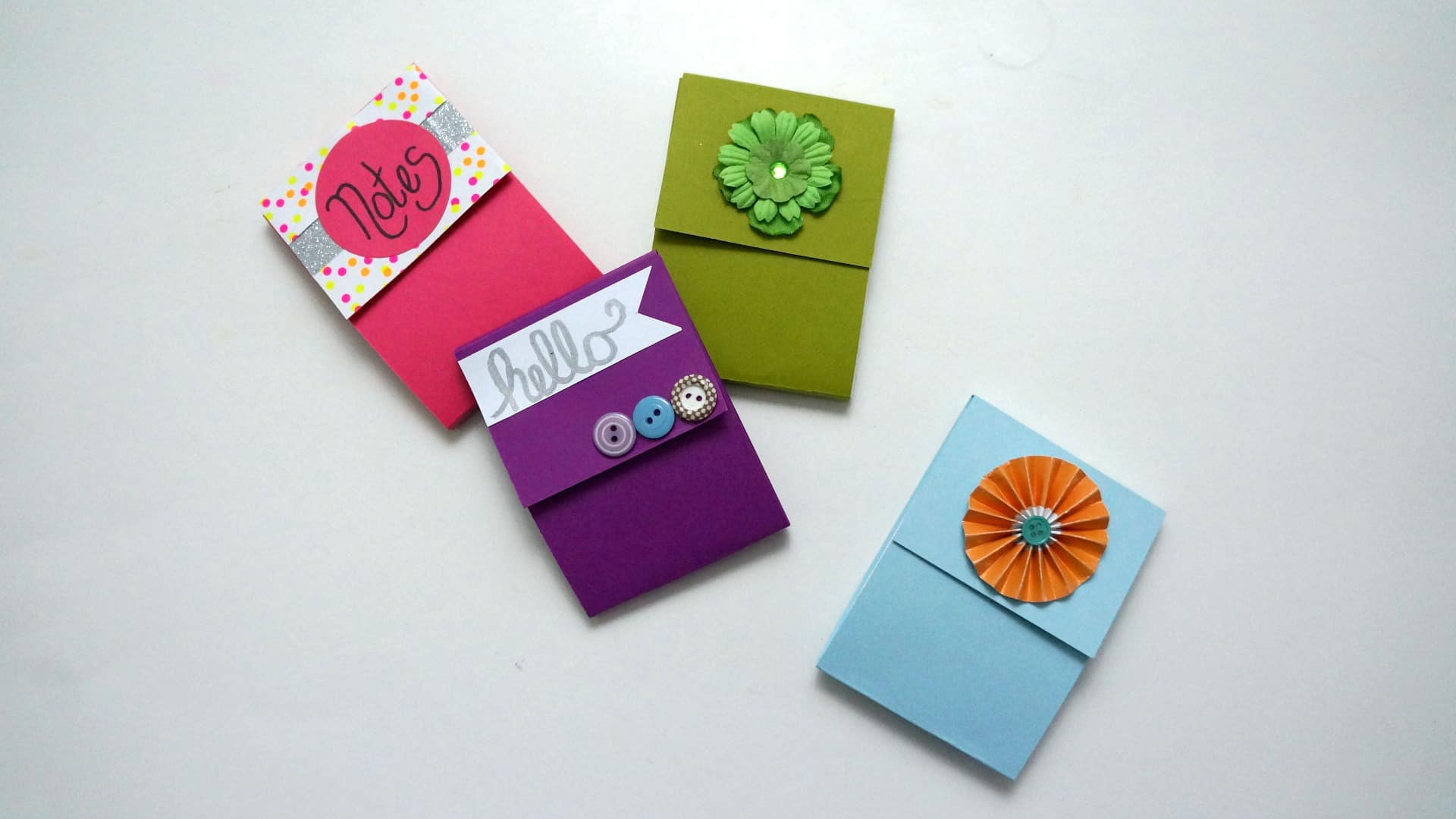 DIY notepad using scrap paper