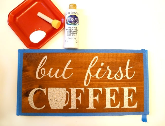 Wood Coffee Sign