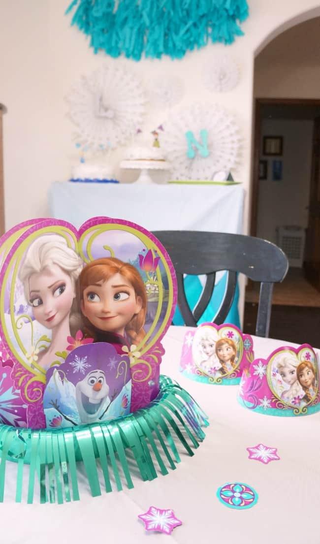 Frozen party decorations