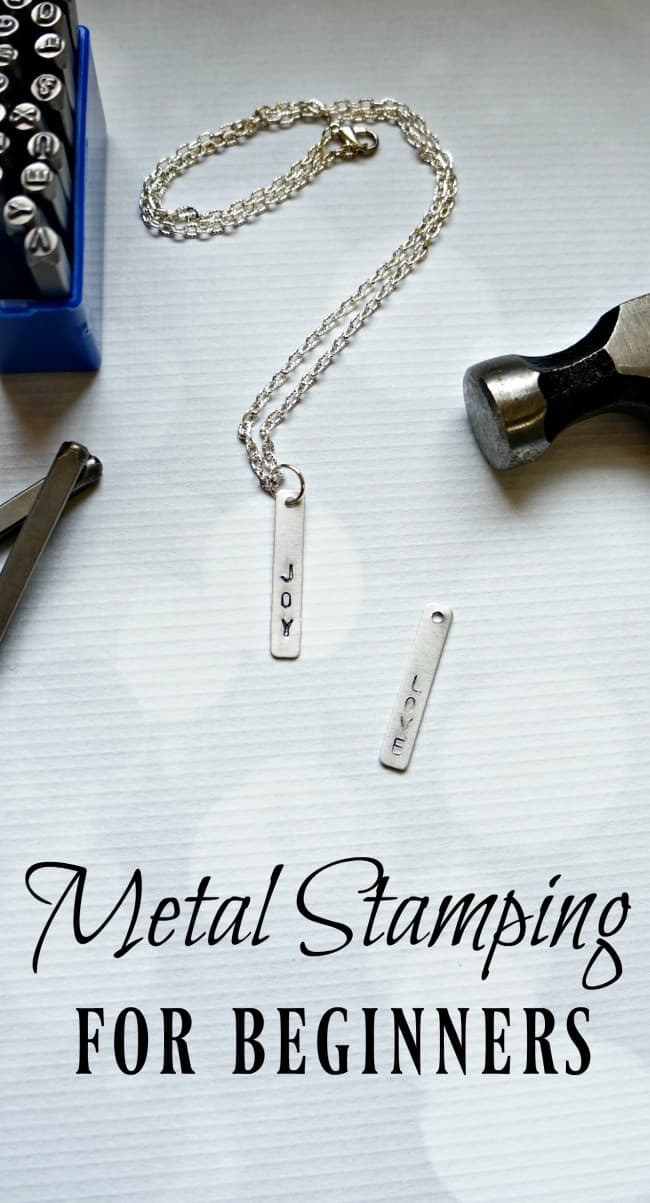 Metal Stamping for Beginners - Creative Ramblings