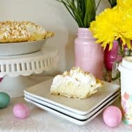 A Simple Easter Pie and Coffee Bar
