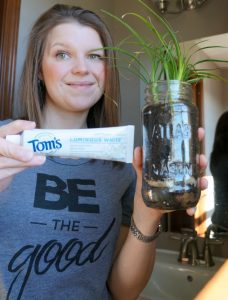Eco-friendly Upcycled Jar Planter with Tom's of Maine