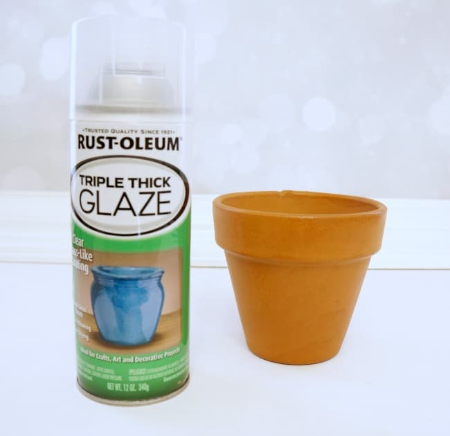 How to Paint and Seal Flower Pots with glaze