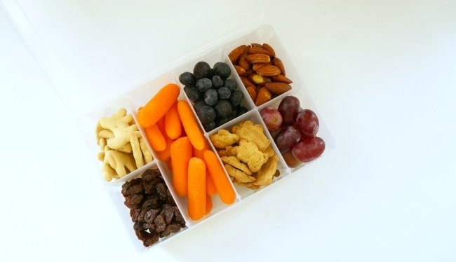 How to Prepare for a Clean and Easy Family Road Trip with bento box snacks