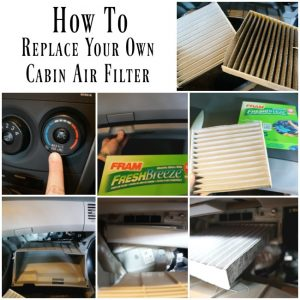 How to replace your own cabin air filter