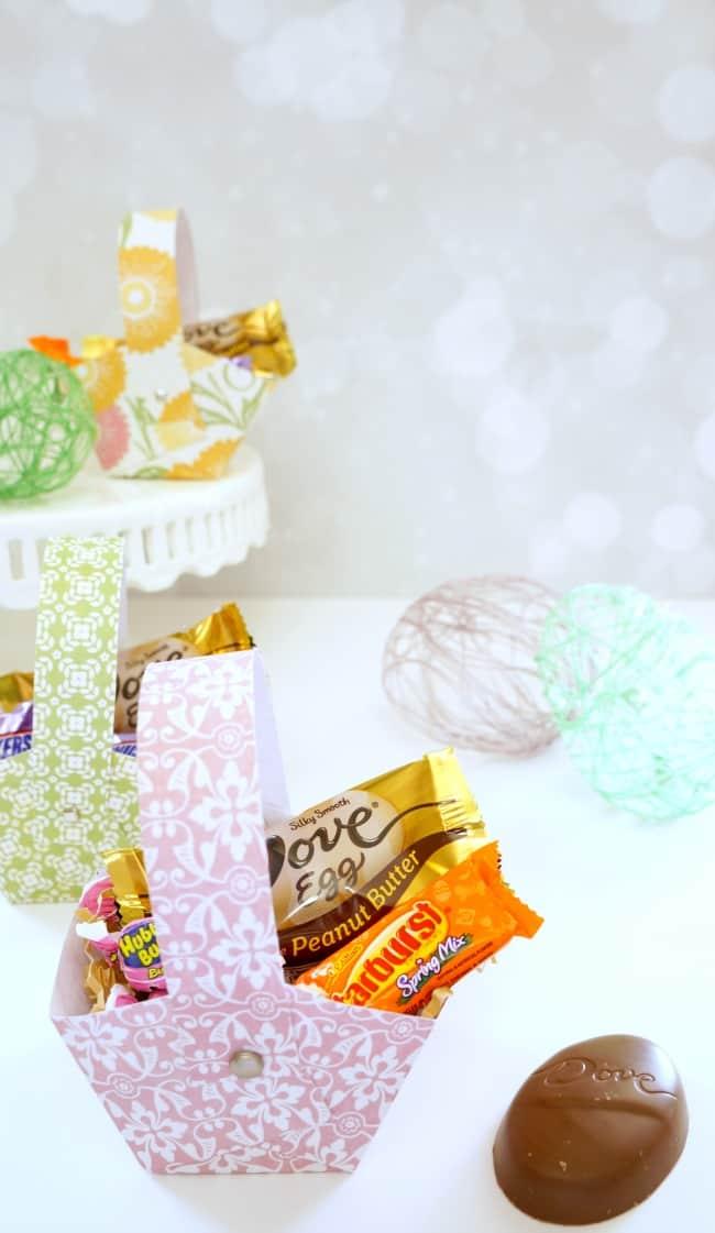 Make this Printable Easter Basket #SweeterEaster #ad