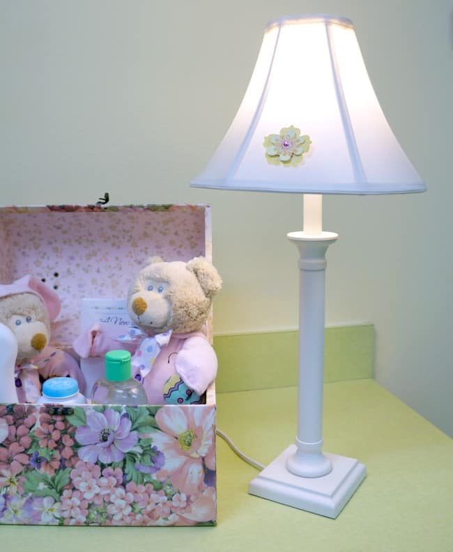 Playroom Decor and Cleaning Tips - lamp