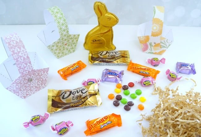 Printable Easter Basket #SweeterEaster #ad