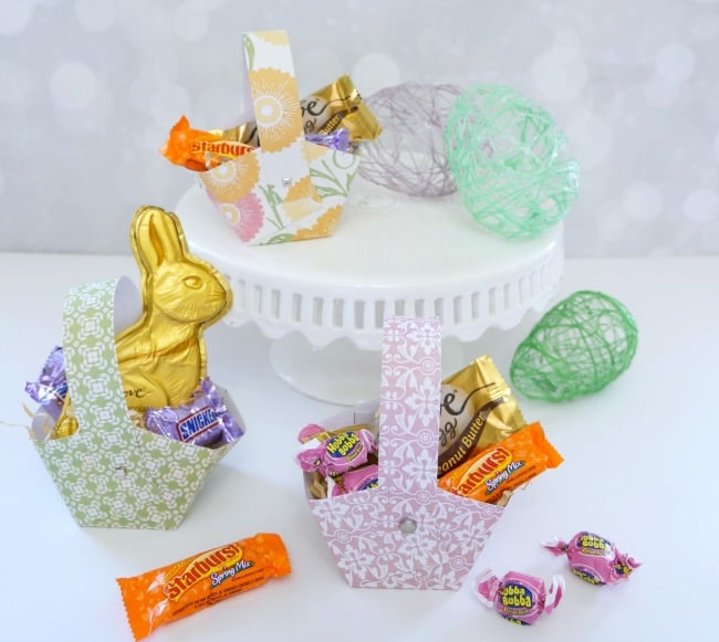 photo relating to Easter Basket Printable called Printable Easter Basket - Innovative Ramblings