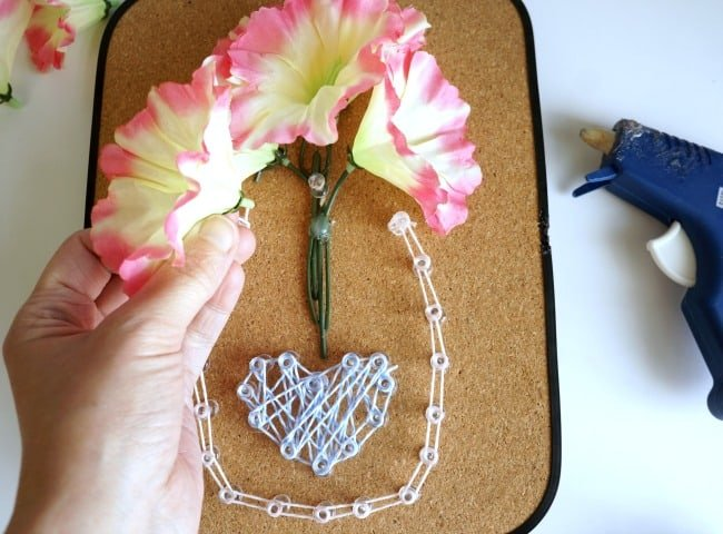 Tutorial for dollar store string art