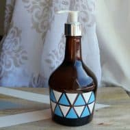 Glass Jar Soap Dispenser