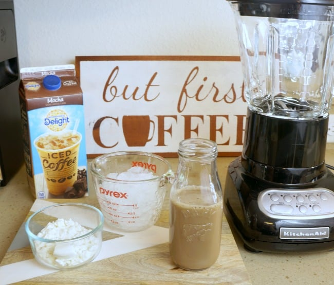 International Delight® Iced Coffee protein coffee shake ingredients