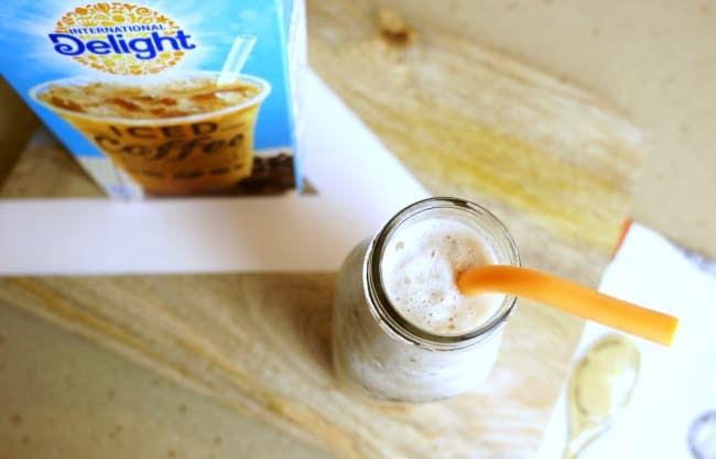 International Delight® Iced Coffee protein shake with coffee