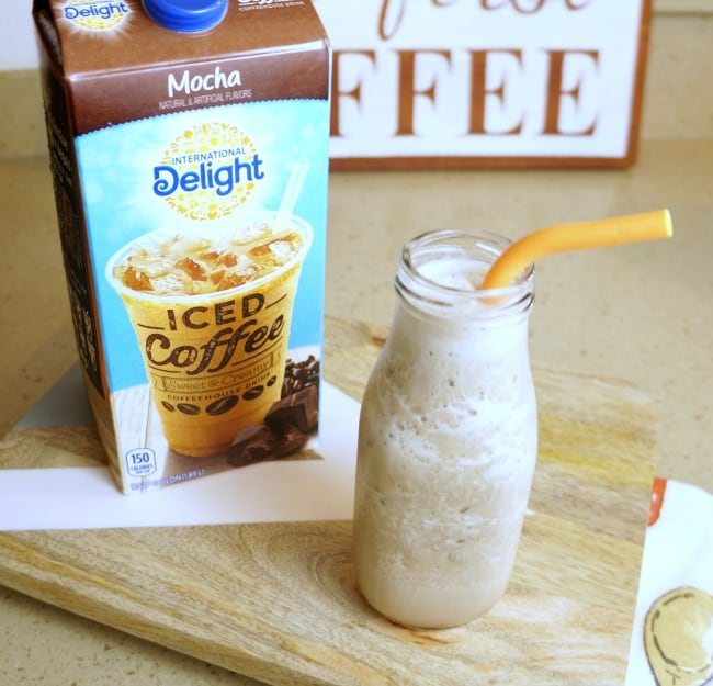 International Delight® Iced Coffee recipe for coffee protein shake