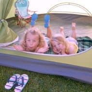 Family Friendly Backyard Camping