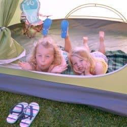 Family Friendly Backyard Camping