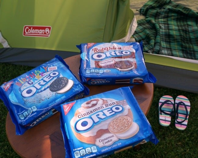 Family Friendly backyard camping #EnterTheWonderVault AD