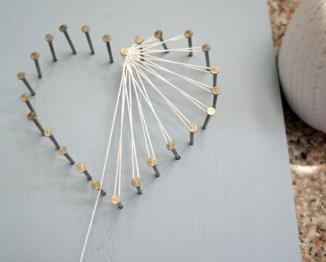 Heart String Art For Kids And Adults Creative Ramblings