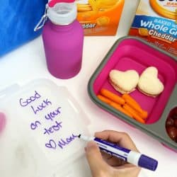 Dry Erase Lunch Box Notes