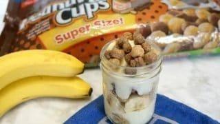 Peanut Butter Banana Yogurt Parfait