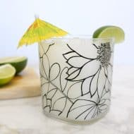 Refreshing Coconut Lime Cocktail