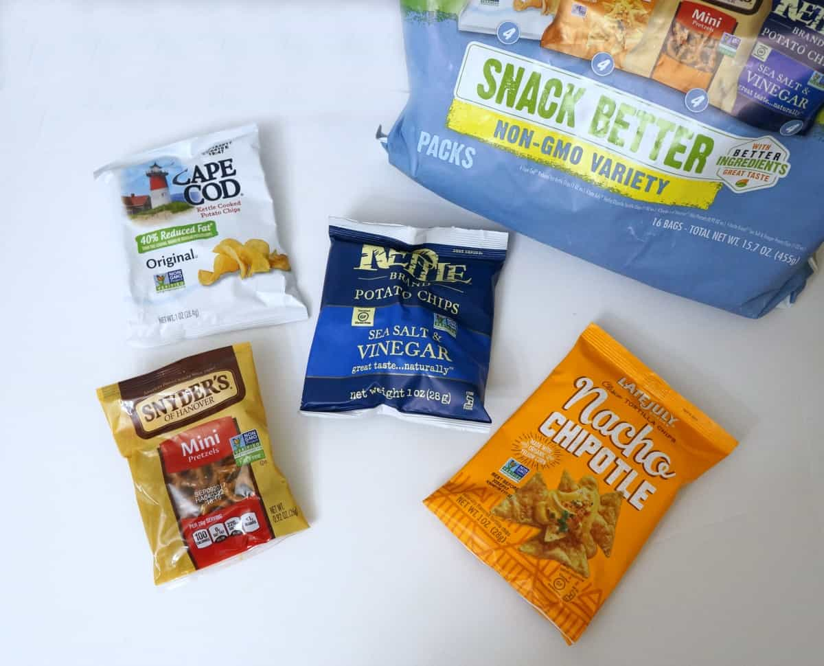 snacks to fuel summer fun - non-GMO variety