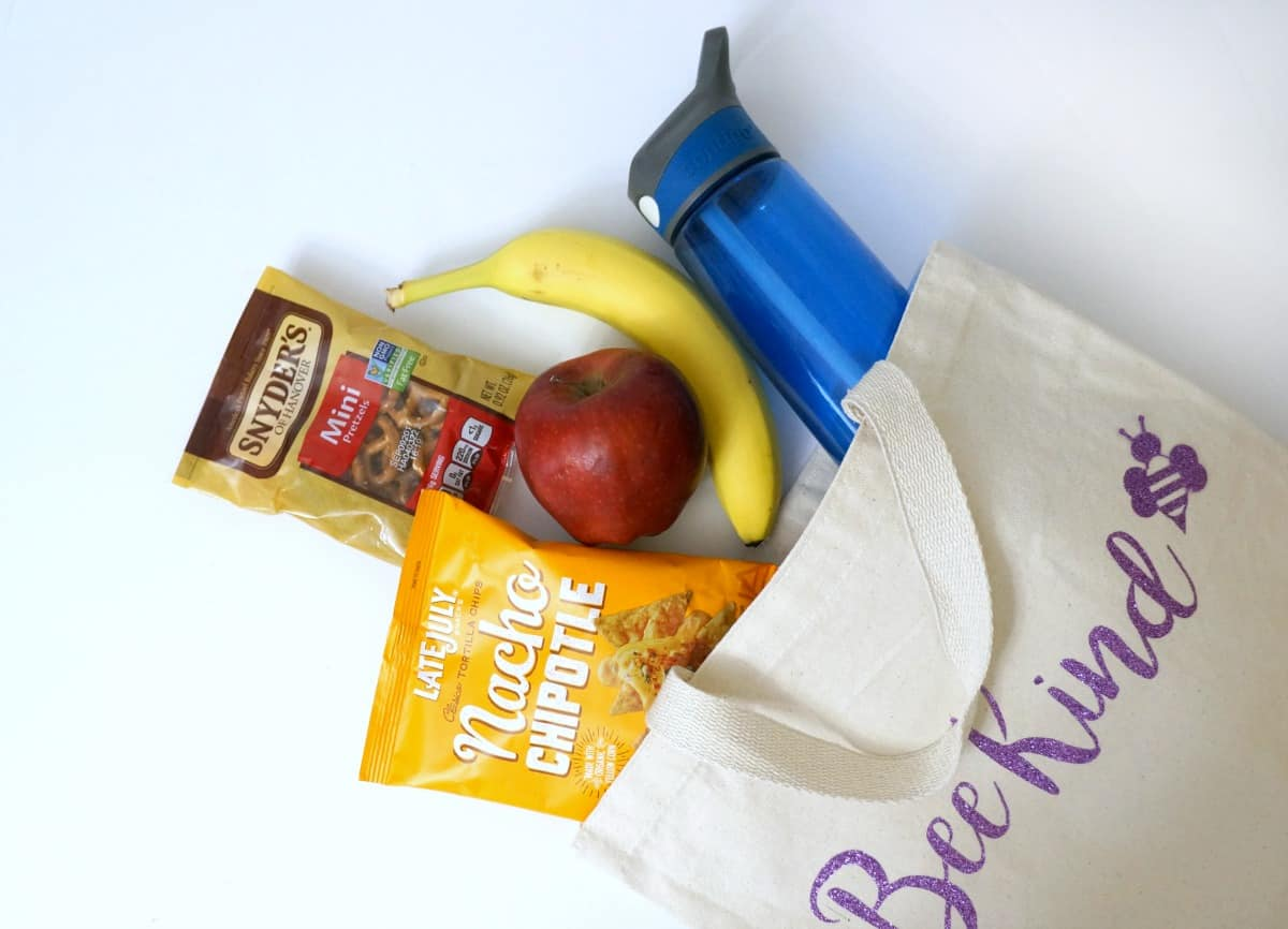 snacks to fuel summer fun - snack bag