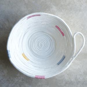 No Sew Rope Bowl