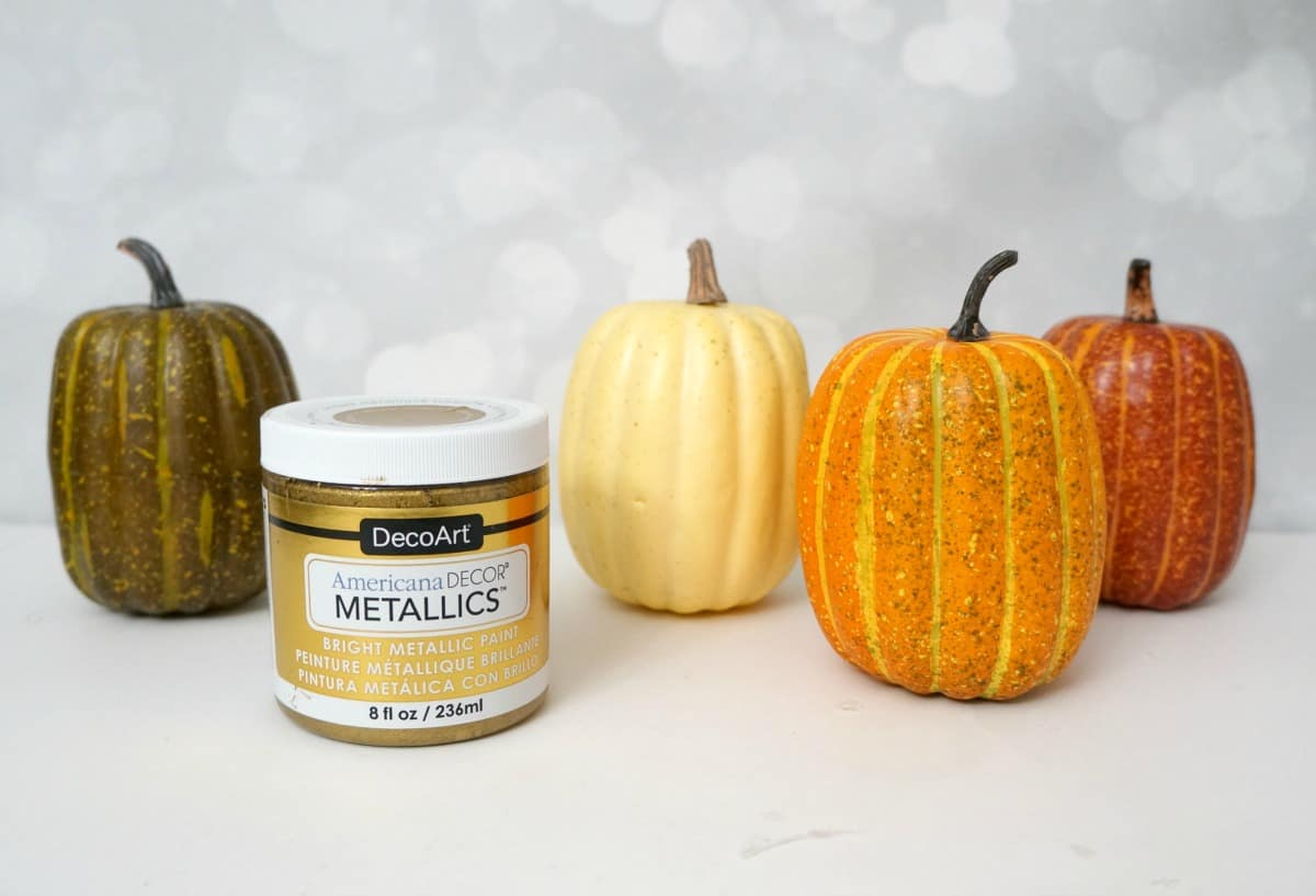How to store pumpkins - Dollar Store Pumpkins