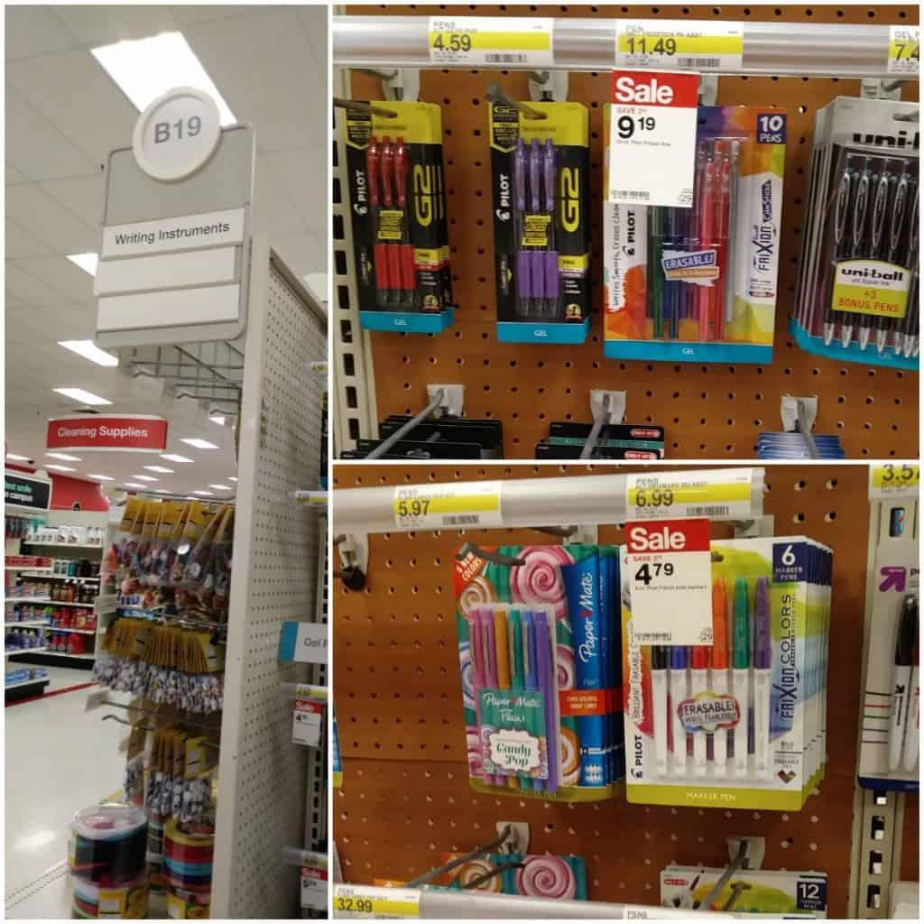 Frixion at Target