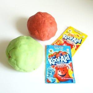Kool-aid play dough for kids