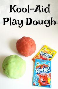 Simple recipe for Kool-Aid play dough
