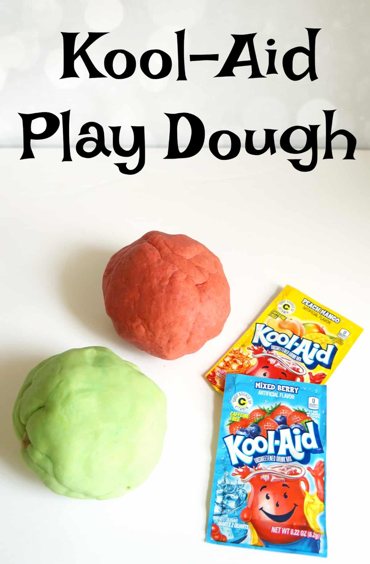 Simple recipe for Kool-Aid play dough