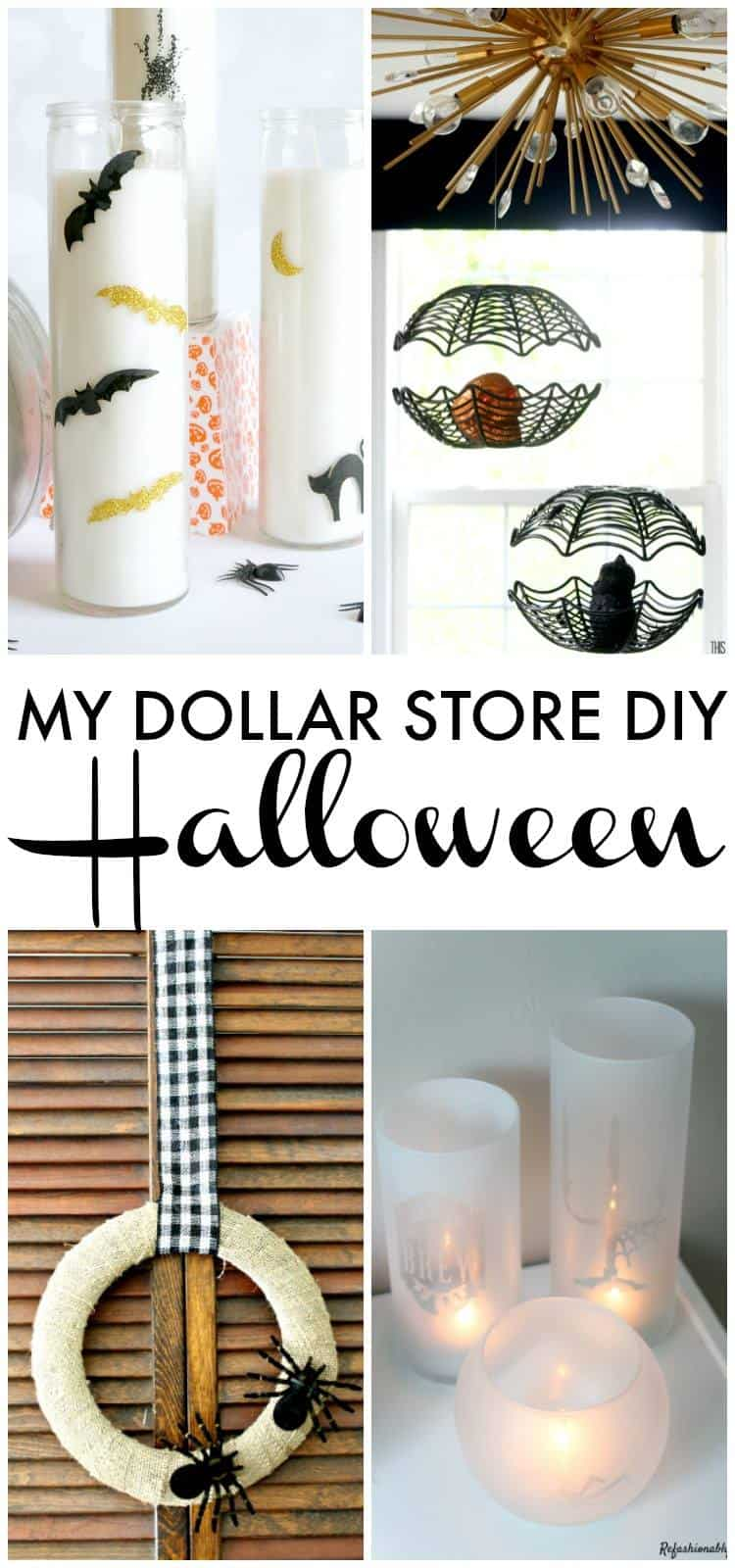 Dollar Store Halloween Projects