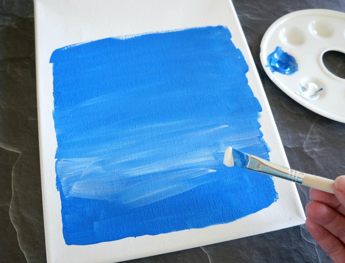 How to Apply Vinyl to a Canvas - Creative Ramblings