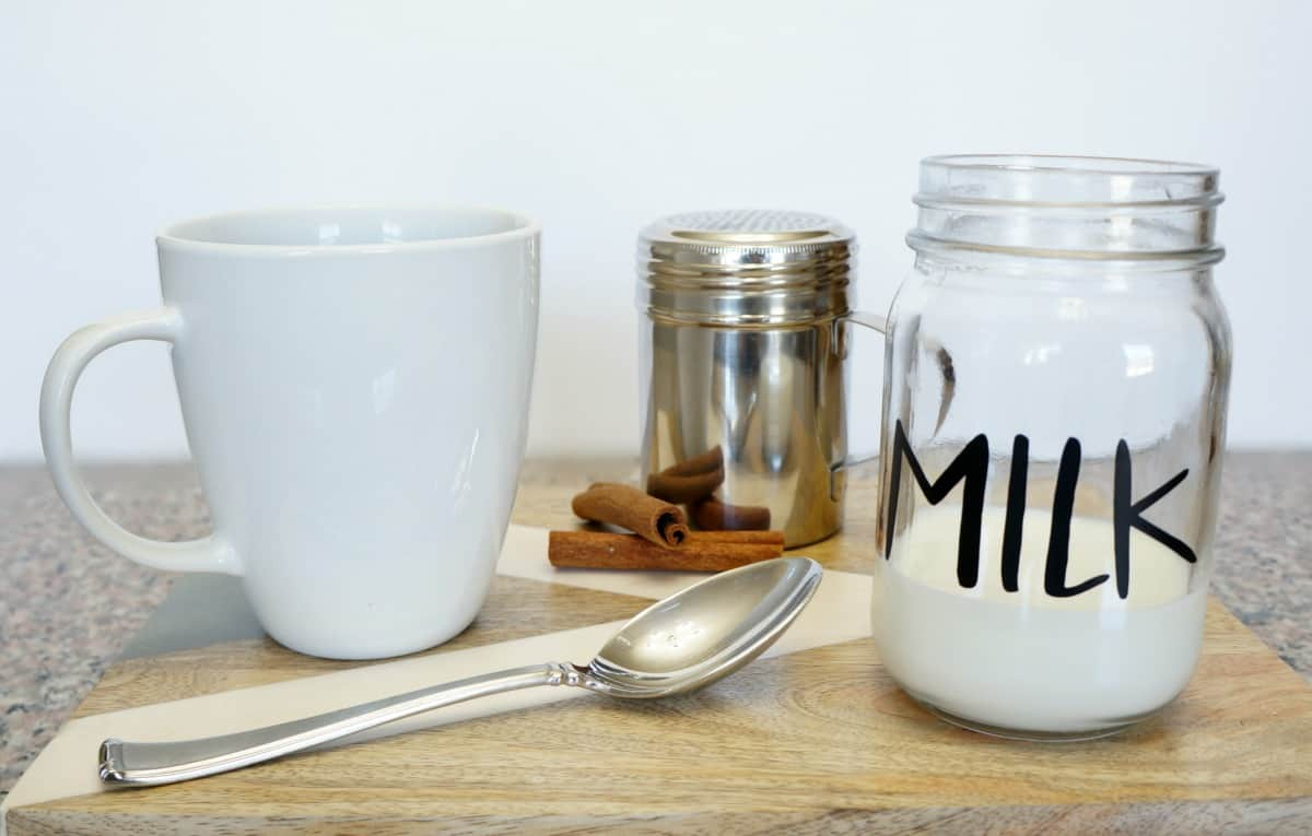 The perfect cup of coffee How to foam milk in a mason jar